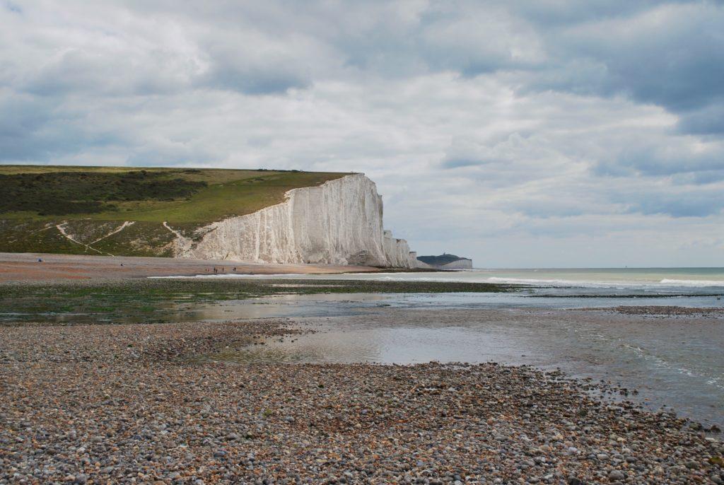 Spiaggia delle Seven Sisters in Inghilterra