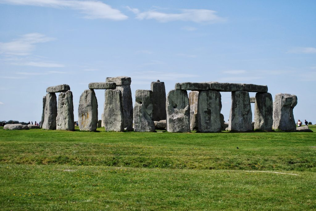 Panorama di Stonehenge in Inghilterra