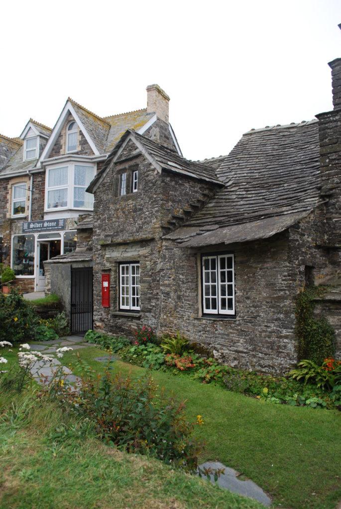 Il vecchio ufficio castello postale di Tintagel