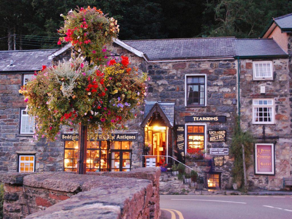 Il borgo di Beddgelert in Galles