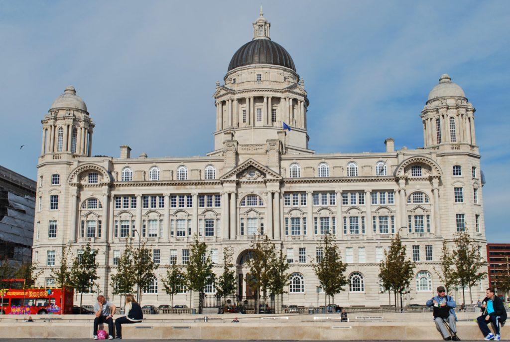 Monumento nella città di Liverpool
