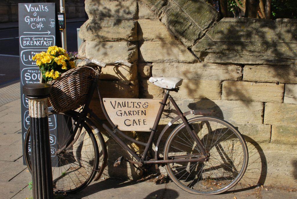 Bicicletta nella città di Oxford