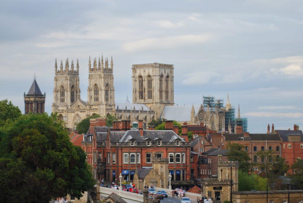 Vista della cattedrale di York