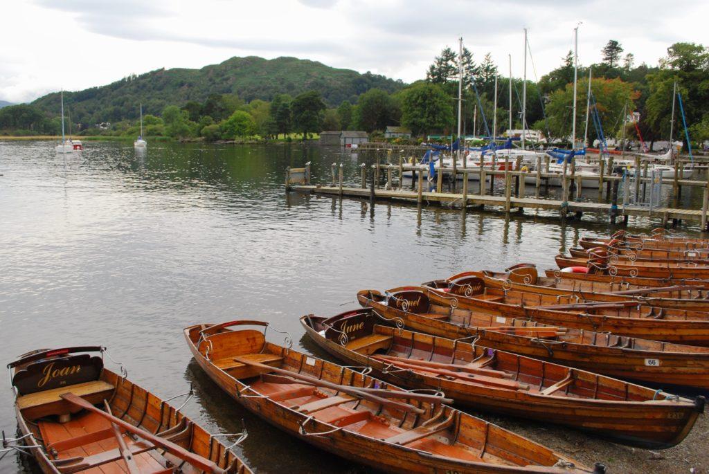 Il Lake District nel Regno Unito