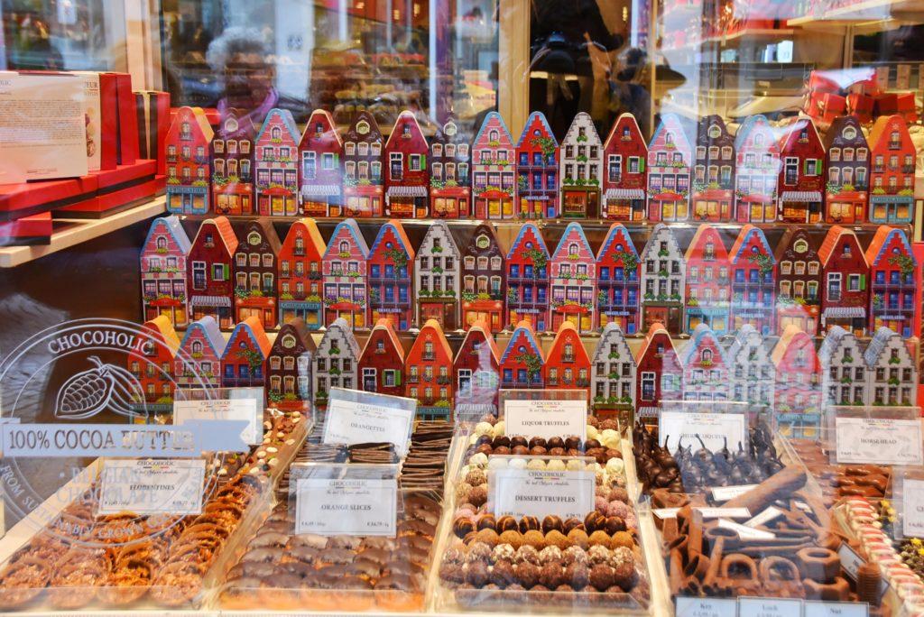 Negozi di cioccolato a Bruges