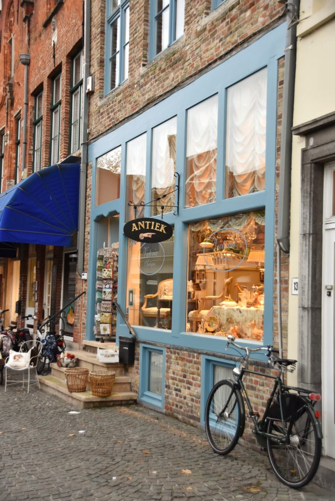 Negozio di antiquariato a Bruges