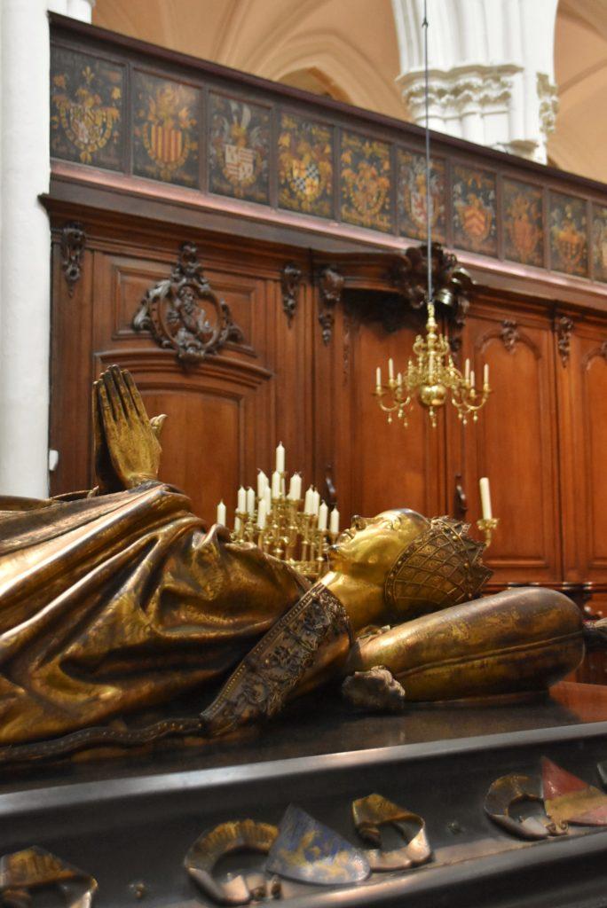 Particolare nella Onze Lieve Vrouwekerk