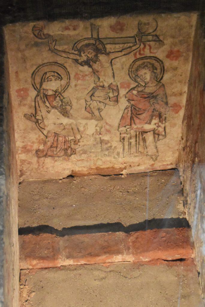 Tombe medievali nella Onze Lieve Vrouwekerk