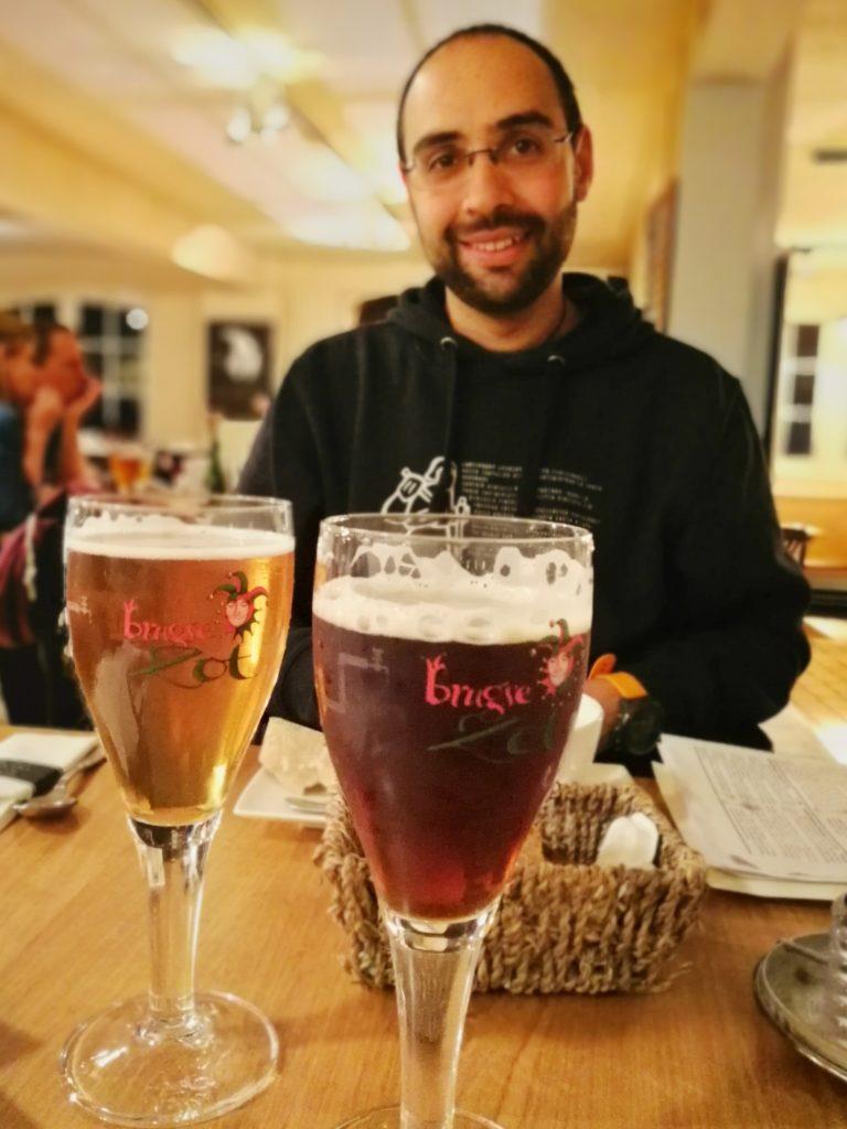Il birrificio De Halvee Maan di Bruges