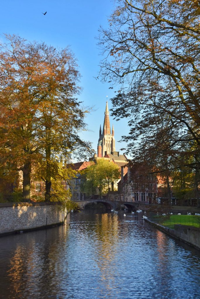 SCorcio del Minnewater a Bruges