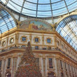 Galleria Vittorio Emanuele vestita a festa