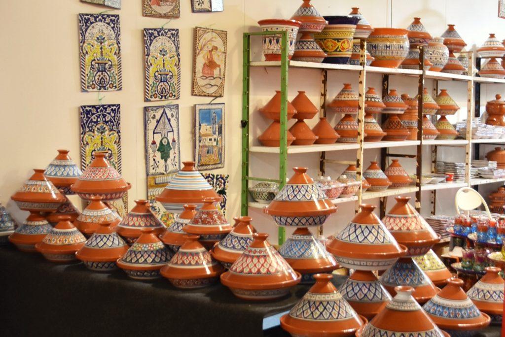 Oggetti tipici dell'artigianato africano