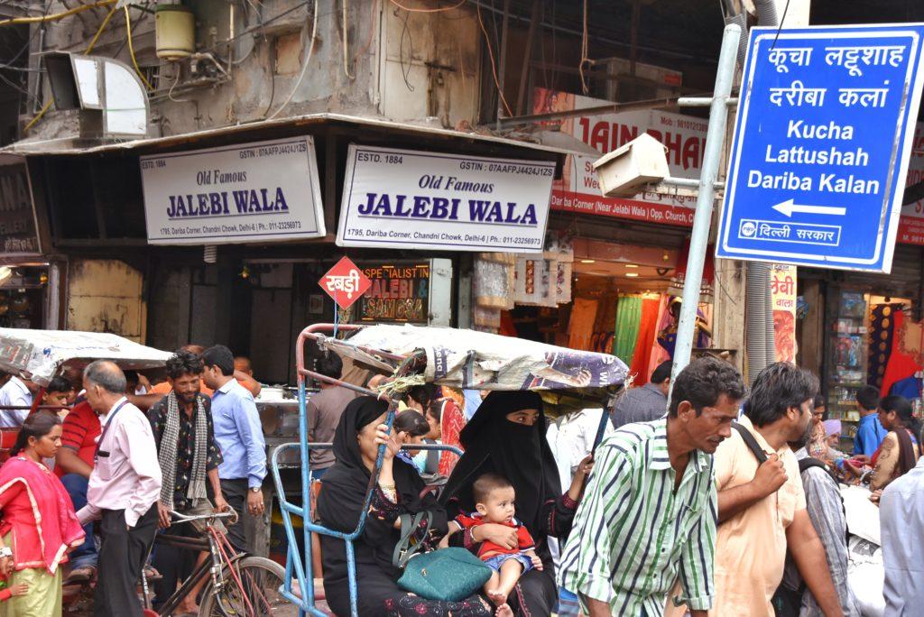 Il mercato della Old Delhi