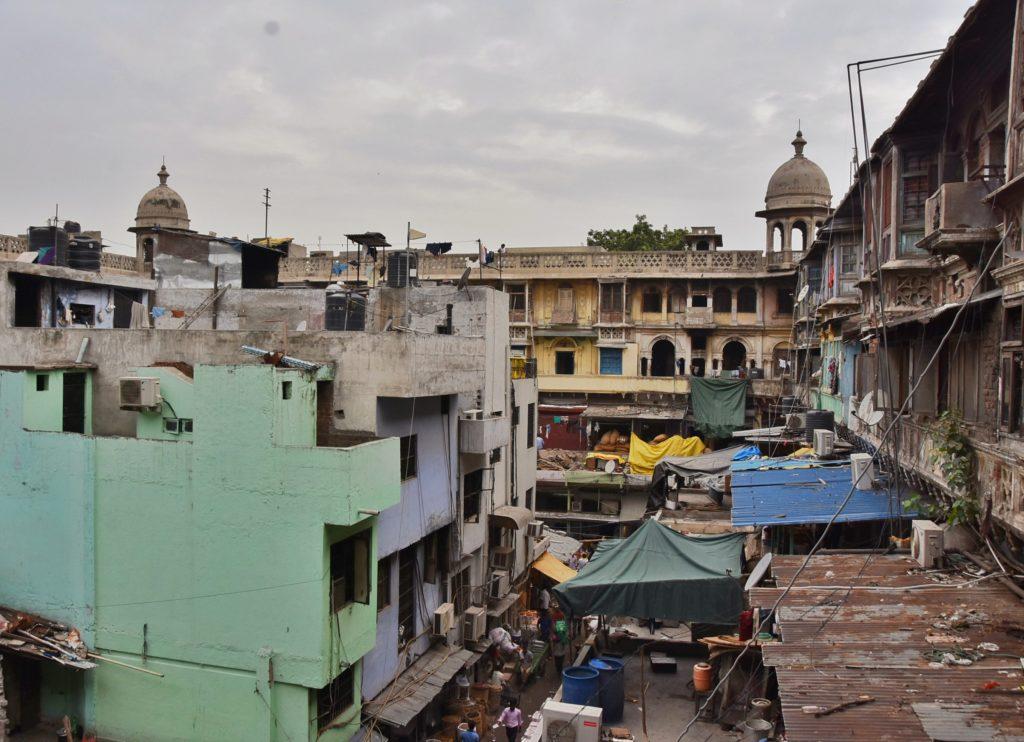 Il mercato delle spezie di Delhi