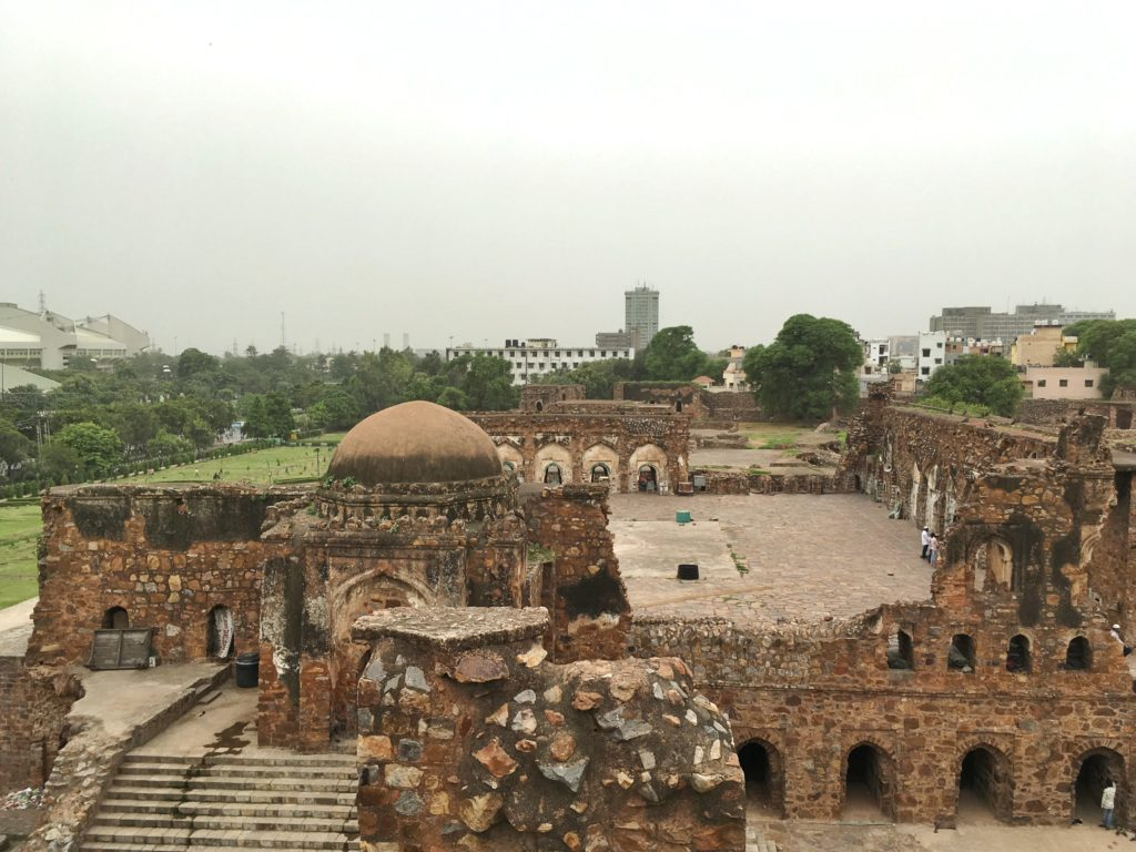 Panorama del Feroz Shah Kotla