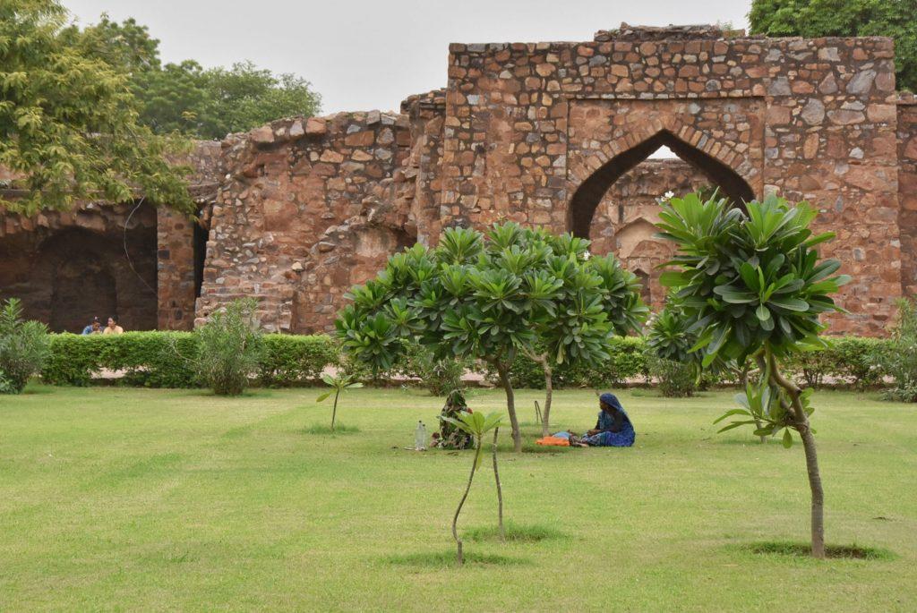L'ingresso al forte di Feroz Shah Kotla