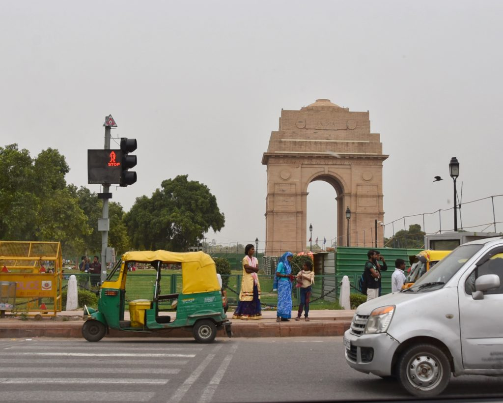 L' Indian gate di Delhi