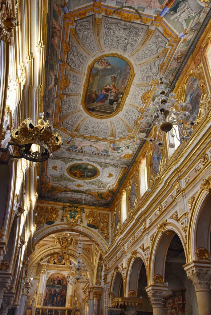 Soffitti della cattedrale di Matera