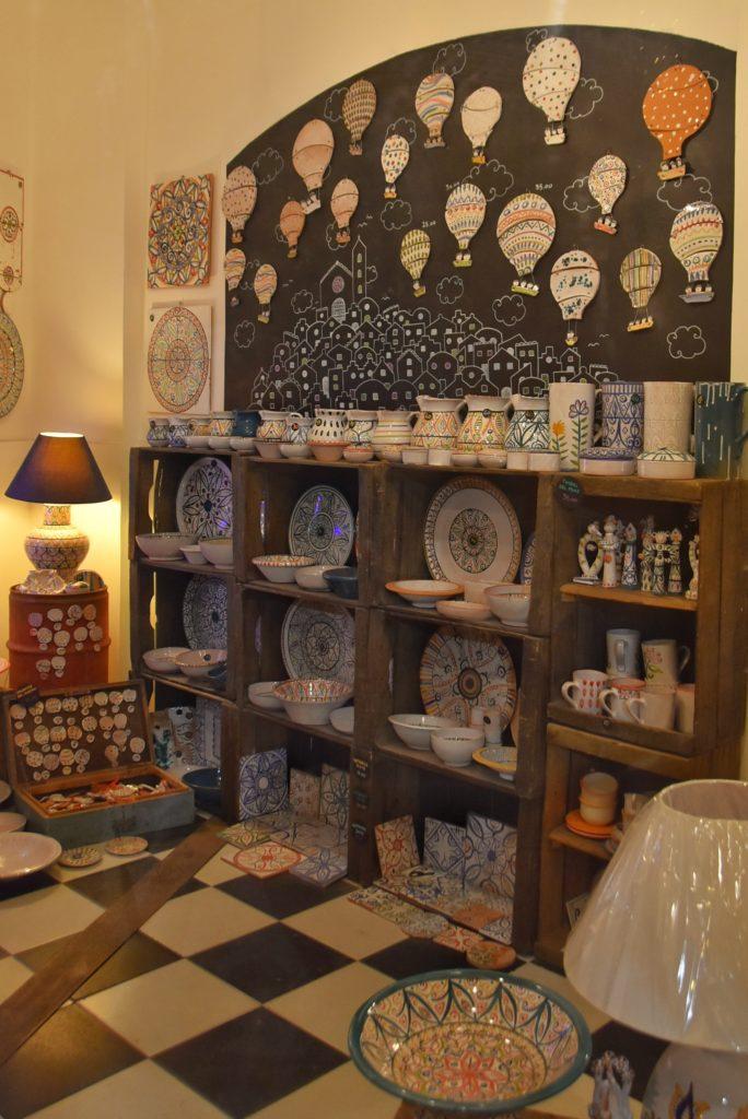 Botteghe di ceramica a Matera