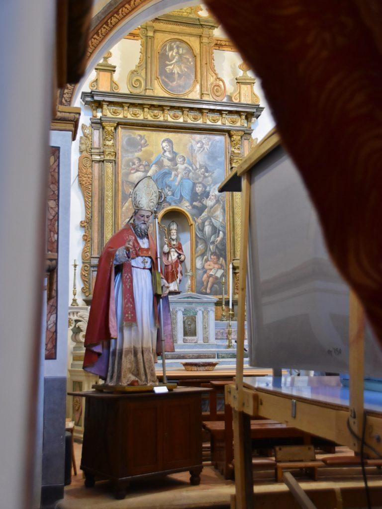 Interni della Chiesetta di San Biagio