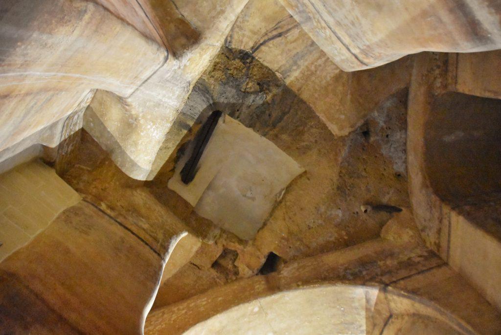 Soffitti del palombaro lungo a Matera